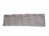 Körnerkissen mit Rapsfüllung mittel Dreiecke 59x18cm