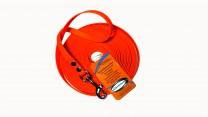 BioThane® Beta orange 13 mm Breit 10 m Lang