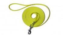 BioThane® Beta gelb 13 mm Breit 10 m Lang mit Schlaufe