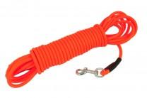 BioThane Schleppleine 8 mm rund neon orange 5 m