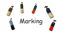 Pocket Dummy marking 80g 1 Stück in verschiedenen Farben