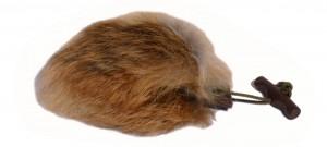 Dummy Ball Fuchs ca Durchm. 11 cm -Vollfell-