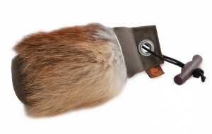 Firedog Standard Dummy 250g khaki mit Fuchsfellring