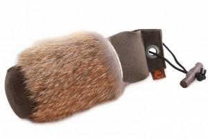 Firedog Standard Dummy 500g khaki mit Fuchsfellring