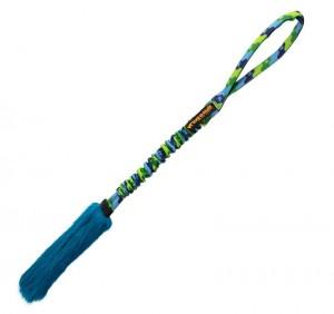 Bright Fauxtastic - Griff: Grün/Blau Fell: blau