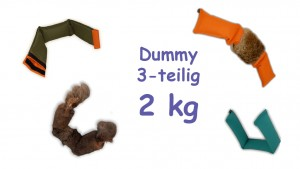 Dummy 3-teilig 1,5 bis 2 kg
