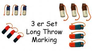 FIREDOG® Standard Dummy marking long throw 250g 3 Stück in verschiedenen Farben