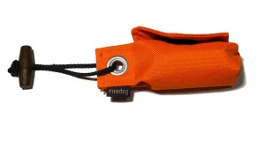 "FIREDOG® Pocket Dummy ""Go Toi"" – der Beutelspender Mini Snack Dummy orange"