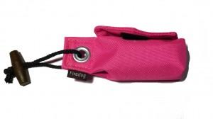 "FIREDOG® Pocket Dummy ""Go Toi"" – der Beutelspender Mini Snack Dummy pink"