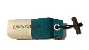 FIREDOG® Pocket Dummy marking  150g weiß/grün