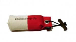 FIREDOG® Pocket Dummy marking  150g weiß/rot