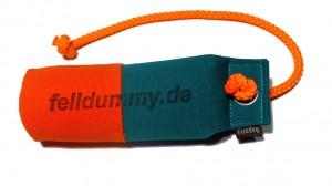 FIREDOG® Standard Dummy marking long throw 250g orange/grün