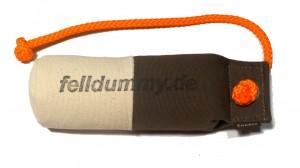FIREDOG® Standard Dummy marking long throw 250g weiß/khaki