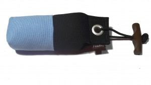 FIREDOG® Pocket Dummy marking  150g hellblau/schwarz