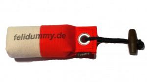 Pocket Dummy marking  80g weiß/rot