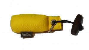 FIREDOG® Schlüsselanhänger-Dummy gelb
