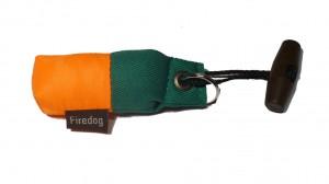 FIREDOG® Schlüsselanhänger-Dummy orange/grün
