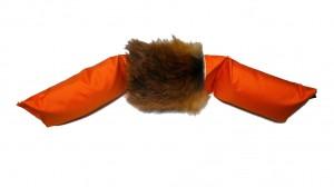 Dummy 3-teilig 5,0 kg mit Fuchsfell orange