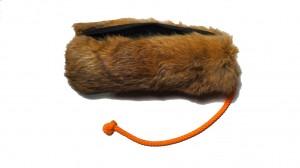Futterdummy mit Kaninchefell groß -Vollfell-