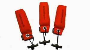 FIREDOG® Pocket Dummy 150g -orange- 3 Stück