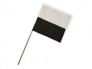 Marking Flag schwarz/weiß 1 Stk.