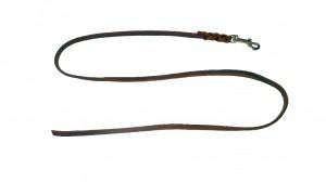 Fettlederleine  8 mm breit, 01,0 m lang ohne Schlaufe