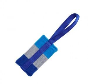 Fleece Futterbeutel Weicher Griff Blau/Blau/Grau