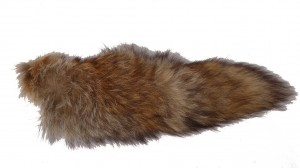 Fuchsfellreststück Lunte