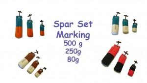 Standard Dummy Marking Set  500g + 250g + 80g