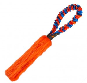 Pocket Fauxtastic - Griff: Orange/Blau Fell: orange