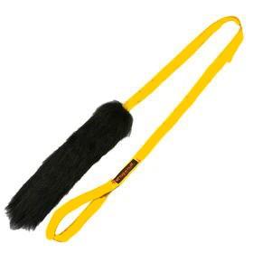 Schaffell Zergel XXL Griff: Gelb Fell: schwarz