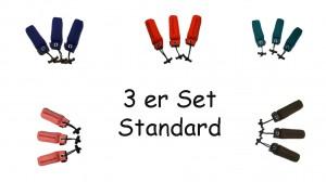 Standard Dummy 250g 3 Stück in verschiedenen Farben