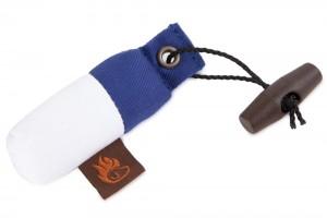 FIREDOG® Schlüsselanhänger-Dummy blau/weiß
