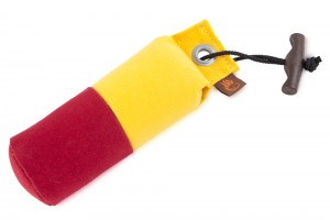 FIREDOG® Standard Dummy marking 250g gelb/weinrot