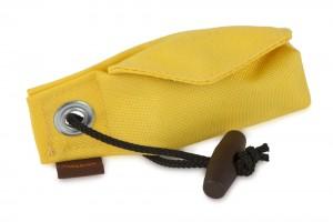 """FIREDOG® Pocket Dummy """"Go Toi"""" – der Beutelspender Mini Snack Dummy gelb"""