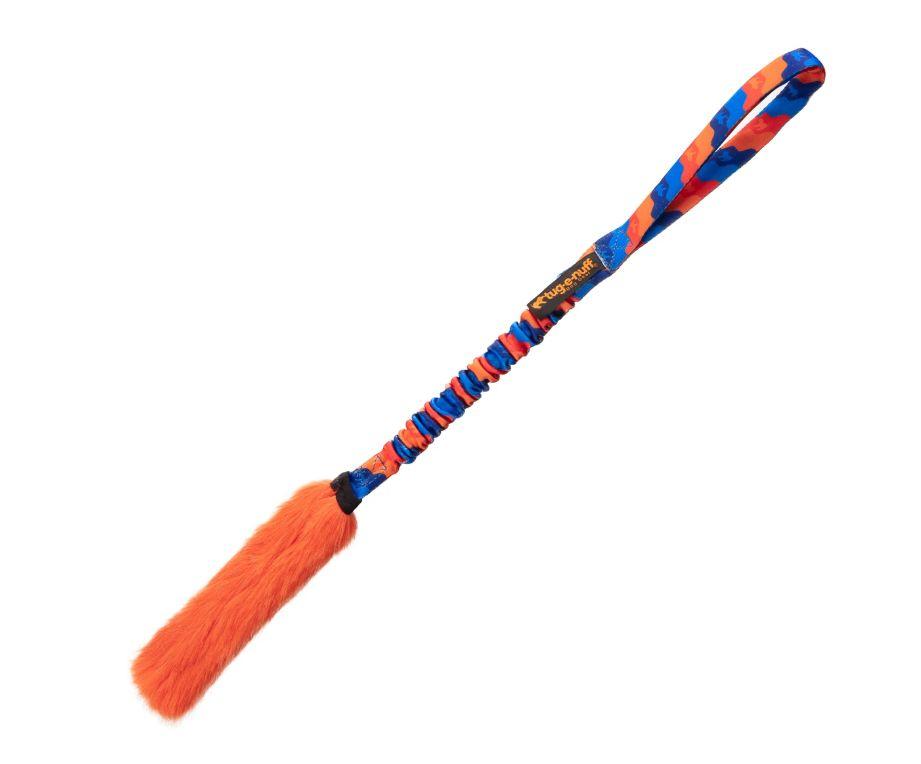 Bright Fauxtastic - Griff: Orange/Blau Fell: orange