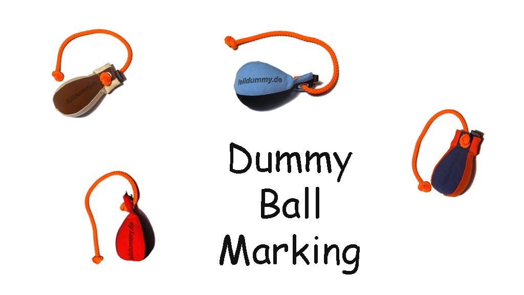 """""""Dummy Ball Marking"""" 150g schwimmend"""