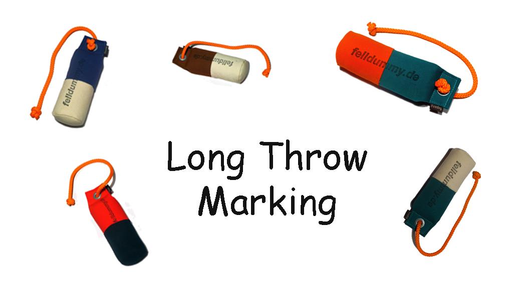FIREDOG® Standard Dummy marking long throw 250g 1 Stück in verschiedenen Farben