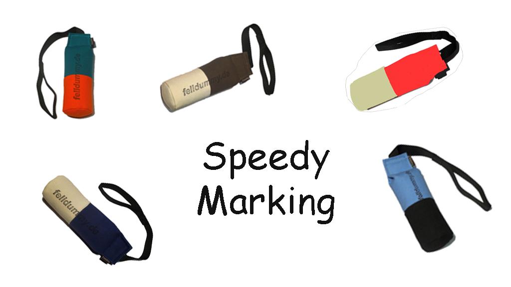 FIREDOG® Dummy Speedy marking 250g 1 Stück in verschiedenen Farben